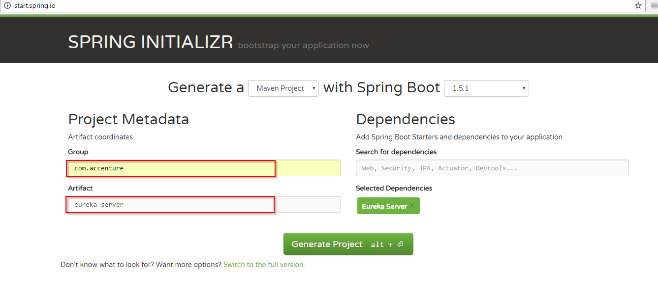 Implementing microservices with Spring Cloud (1): Eureka